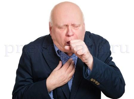 клинические симптомы пневмонии - кашель и боль в груди