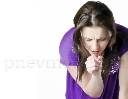 кашель при крупозной пневмонии