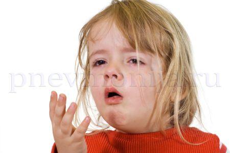 кашель при пневмонии у детей