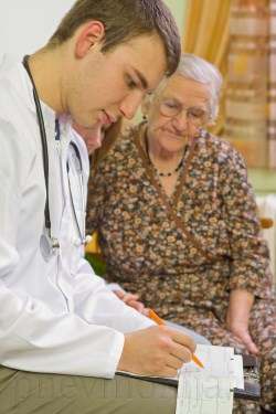 Двухсторонняя пневмония у стариков
