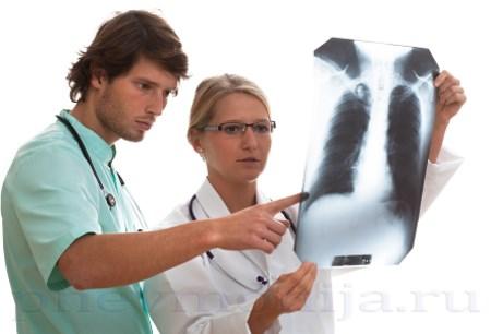 Лечение пневмонии при тяжеломсостоянии