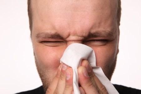 Ринит, как симптомвоспаления легких