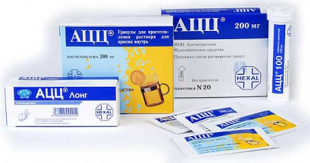 Ацетилцистеин при лечении бронхита