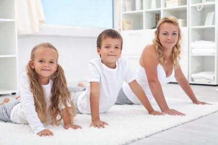 Гимнастика для детей при бронхите
