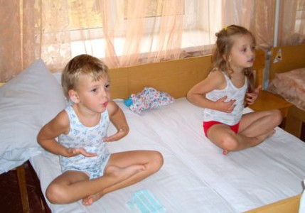 Гимнастика при бронхите для малышей