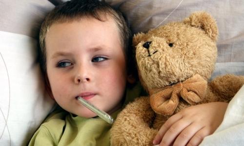 Опасность ангины у малышей