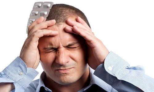 Сильная головная боль при сфеноидите