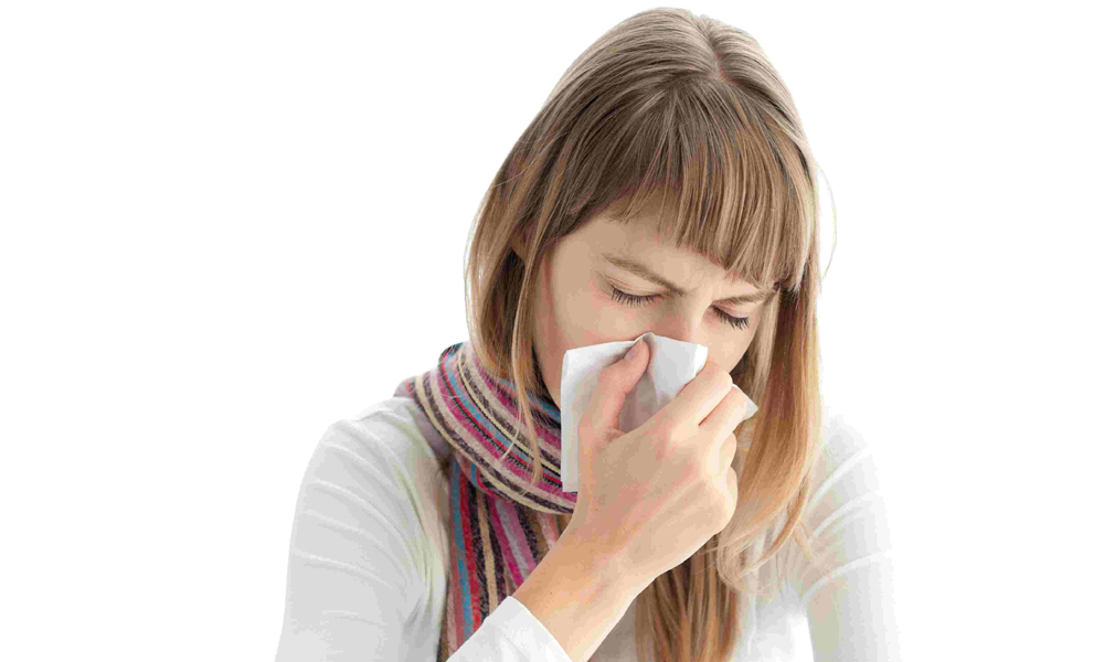 Распирание в носу и головная боль