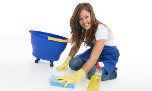 Влажная уборка - профилактика аллергического ринита