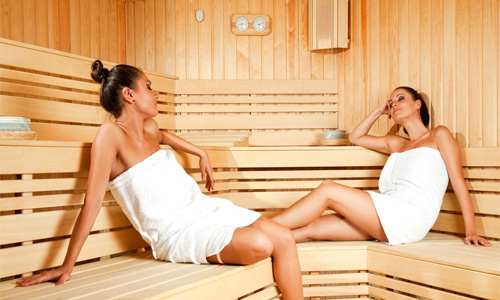 Возможно ли посещение бани? фото