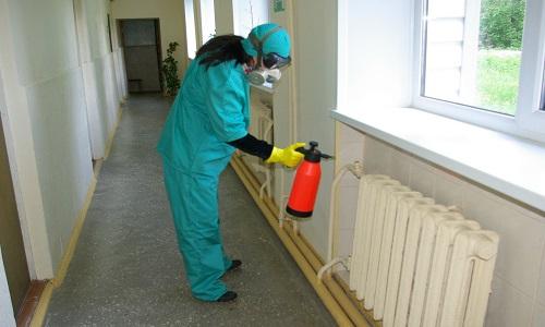 Проведение дезинфекции при туберкулезе