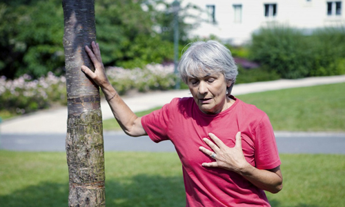 Одышка - симптом силикоза легких