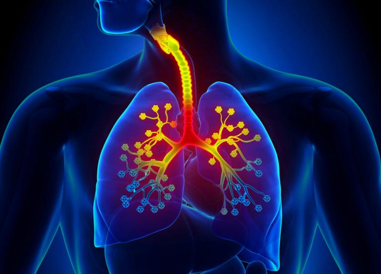 Болит в области трахеи кашля нет