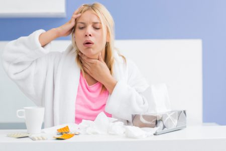 Как бороться с проблемой при простуде?