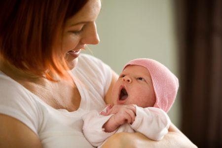 Красное горло у грудного ребенка